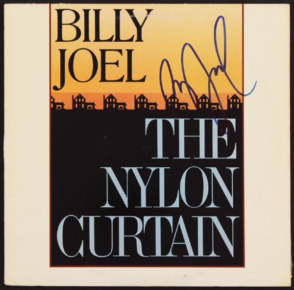 Billy Joel Signed Nylon Curtain Album