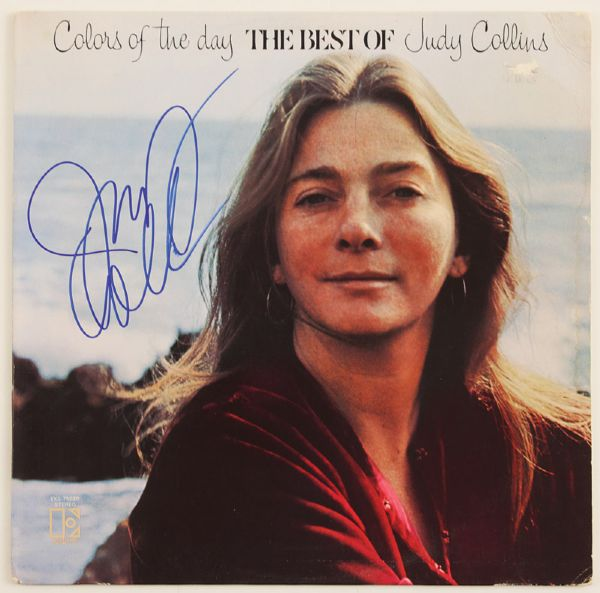 Judy Collins Signed Colors of the Day, Best of Album
