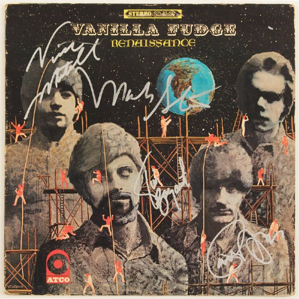 Vanilla Fudge Signed Renaissance Album