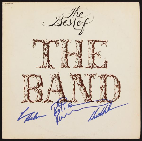 The Band Signed Best Of Album