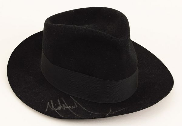 Michael Jackson Stage Worn and Signed Fedora
