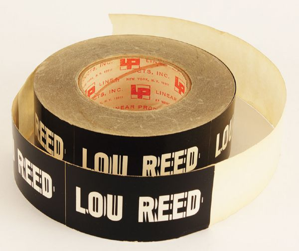 Lou Reed 1973 Berlin Tour Used Transformer Logo Stickers and Backstage Passes