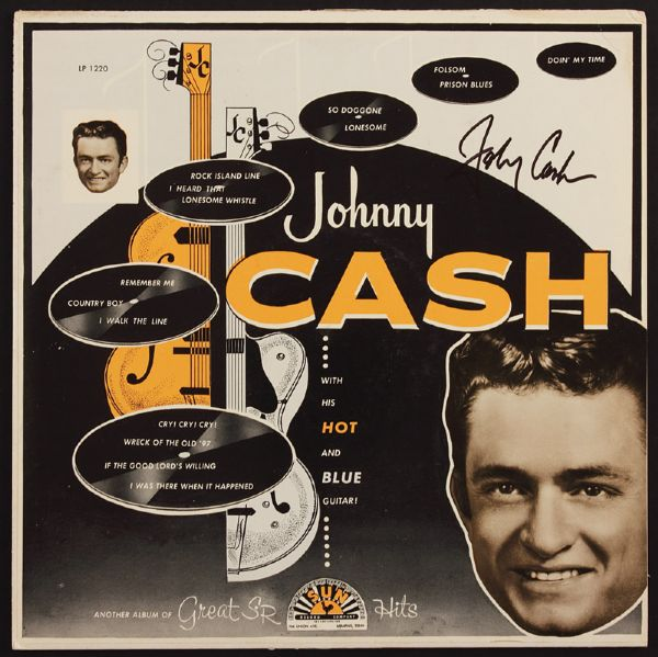 Johnny Cash Signed Album