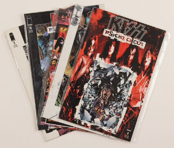 KISS Psycho Circus Comic Book Collection