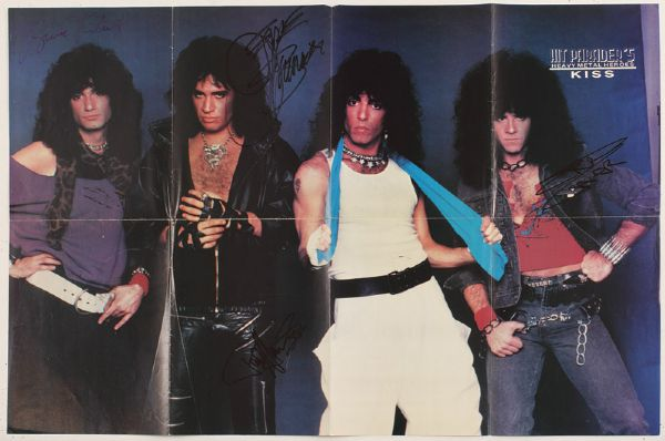 KISS Signed Posters