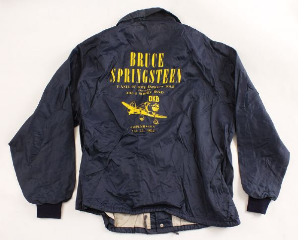 Bruce Springsteen 1988 Tunnel of Love Express Tour Copenhagen Jacket
