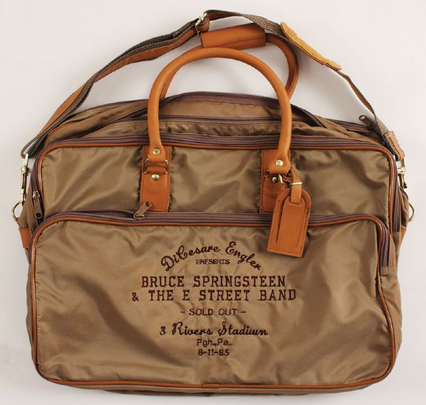 Bruce Springsteen 1985 3 Rivers Stadium Concert Crew Bag