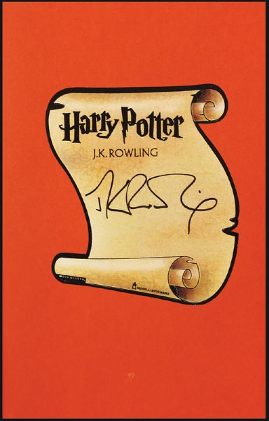 J.K. Rowling Signed Harry Potter And The Prisoner Of Azkaban First Edition Book