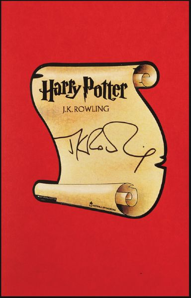 J.K. Rowling Signed Harry Potter And The Chamber of Secrets First Edition Book
