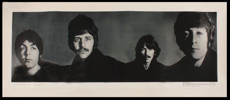 Lot Detail - Beatles Original Linen Backed Richard Avedon ...