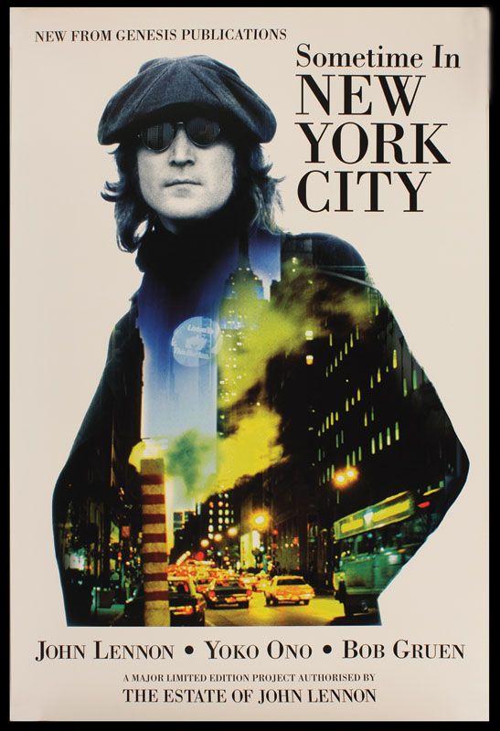 Lot Detail John Lennon Original Quot Sometime In New York