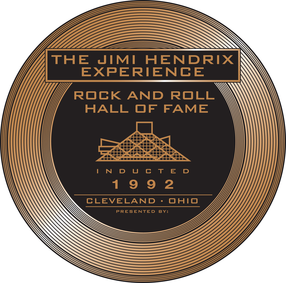 Lot Detail - Jimi Hendrix Rock and Roll Hall of Fame Inductee ...