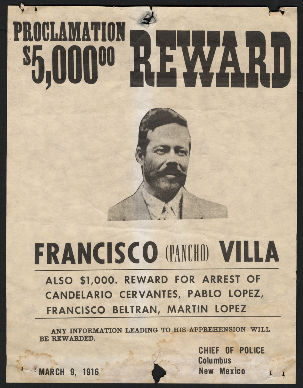 Doc400601 Real Wanted Poster Authentic Photos Old West 71 – Real Wanted Poster