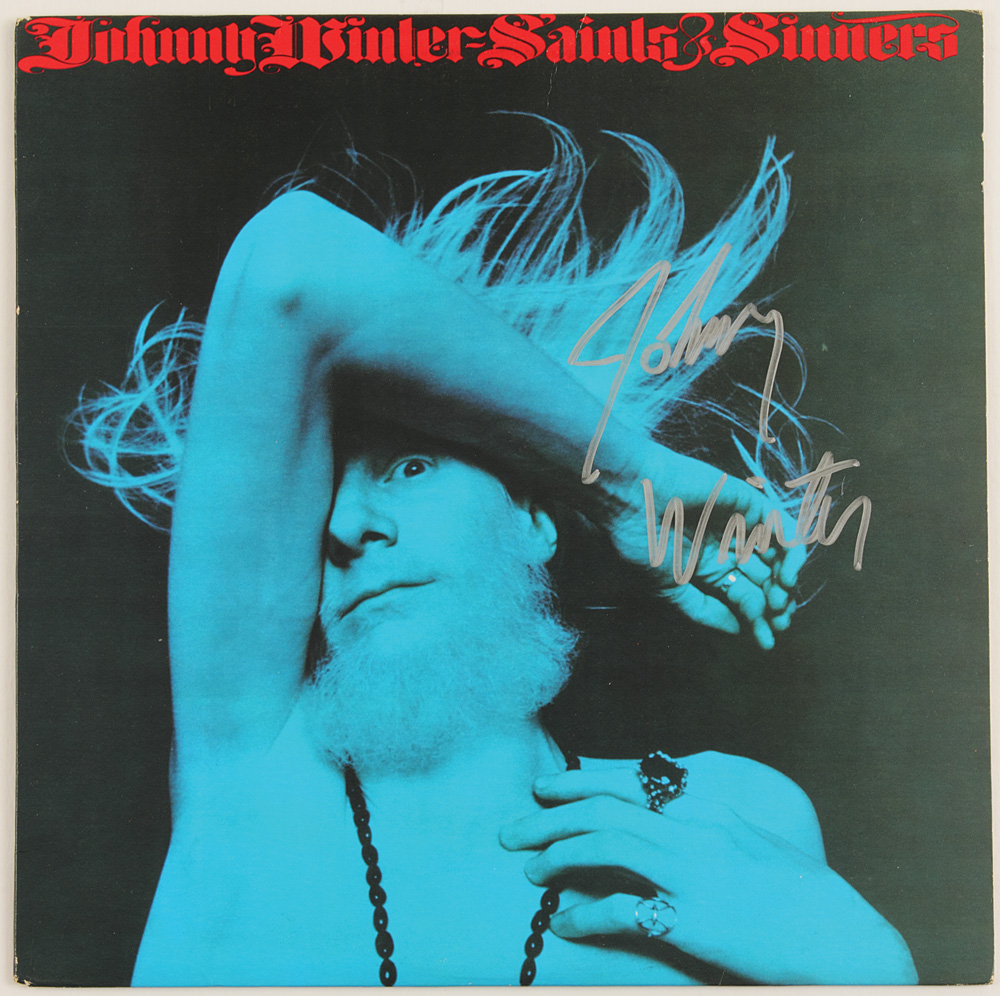 Image result for johnny winter saints and sinners images
