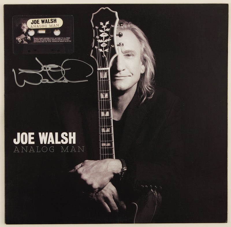 Joe Walsh Albums : lot detail joe walsh signed analog man album cover ~ Russianpoet.info Haus und Dekorationen