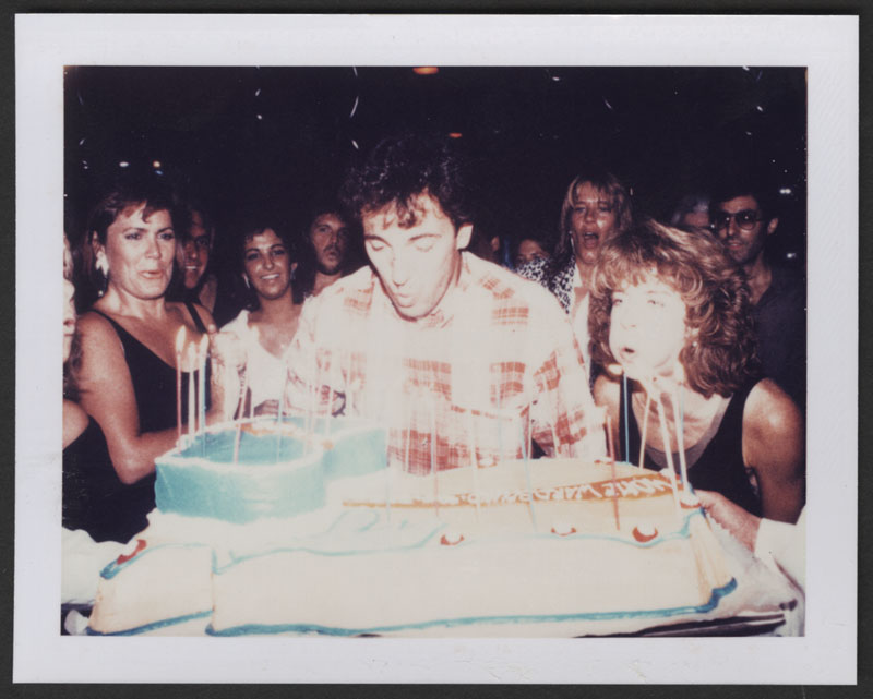 Wondrous Lot Detail Bruce Springsteen Original Polaroid From His Birthday Funny Birthday Cards Online Bapapcheapnameinfo