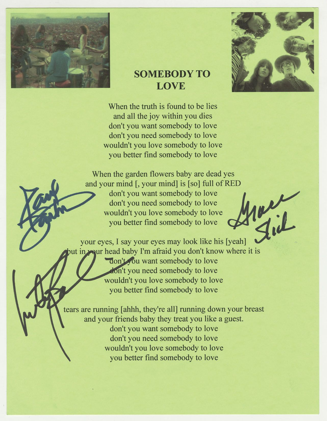 got somebody lyrics: