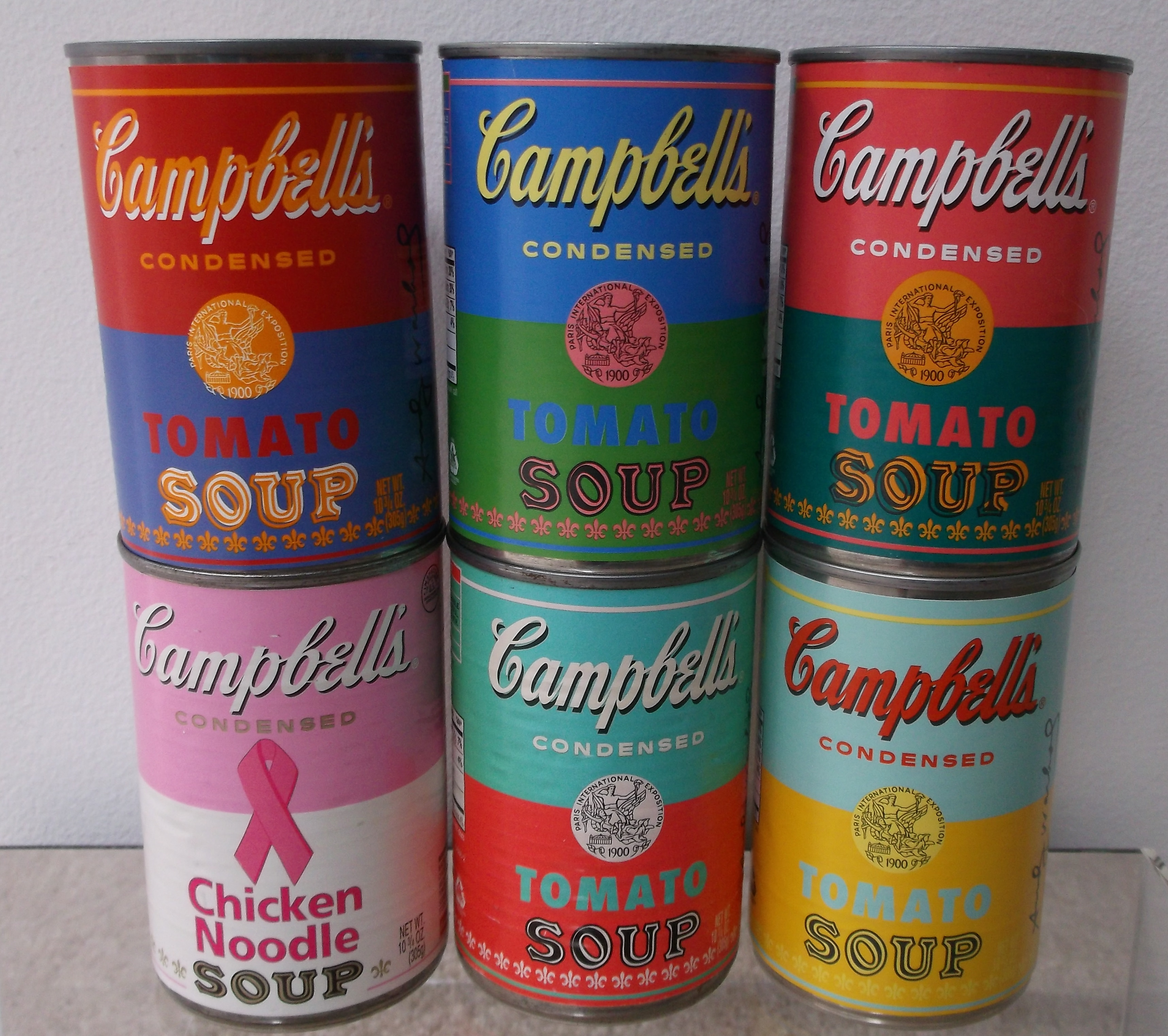 Lot Detail - Andy Warhol Limited Edition Campbell's Soup Cans