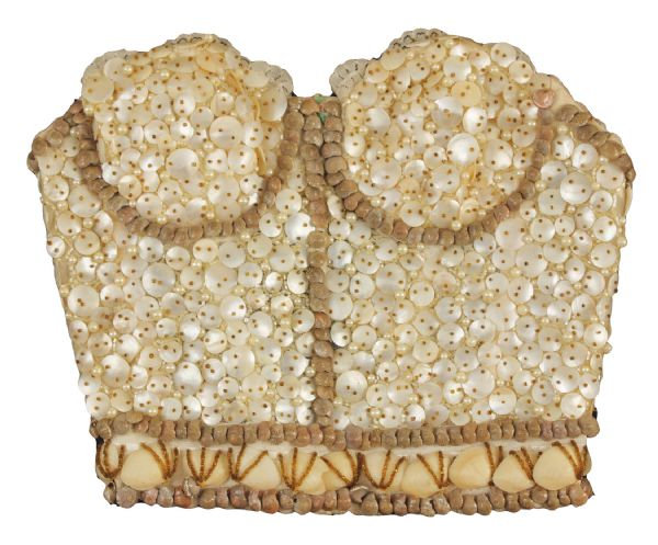 Madonna Worn Sequin and Shell Bustier Custom Made by Andre Van Pier
