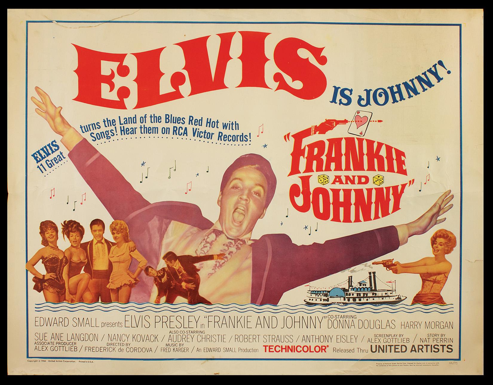 e4b601e554eea Lot Detail - Elvis Presley Original
