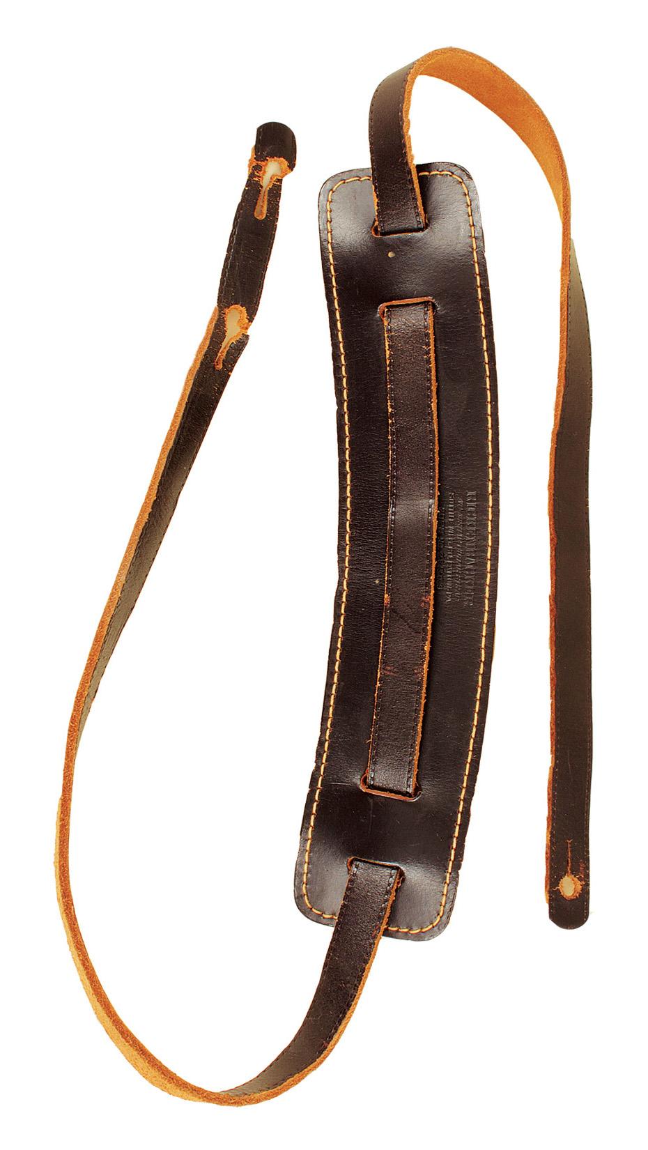 lot detail john lennon guitar strap used backstage at last beatles concert candlestick park. Black Bedroom Furniture Sets. Home Design Ideas