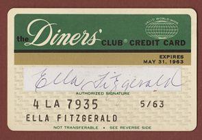 Lot Detail - Ella Fitzgerald Signed Original 1963 Personal ...  Lot Detail - El...