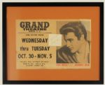 "Elvis Presley Original ""Jailhouse Rock"" Vintage Broadside"
