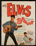 "Elvis Presley ""Spinout"" Original 3 Sheet Movie Poster"