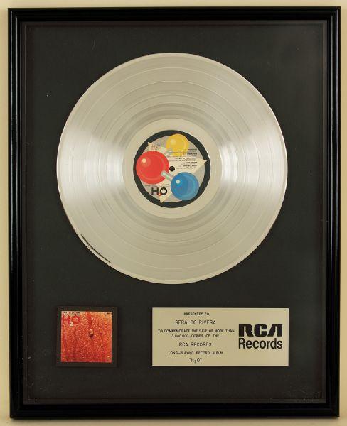 "House Platinum: Hall & Oates ""H2O"" Original RCA Records In"
