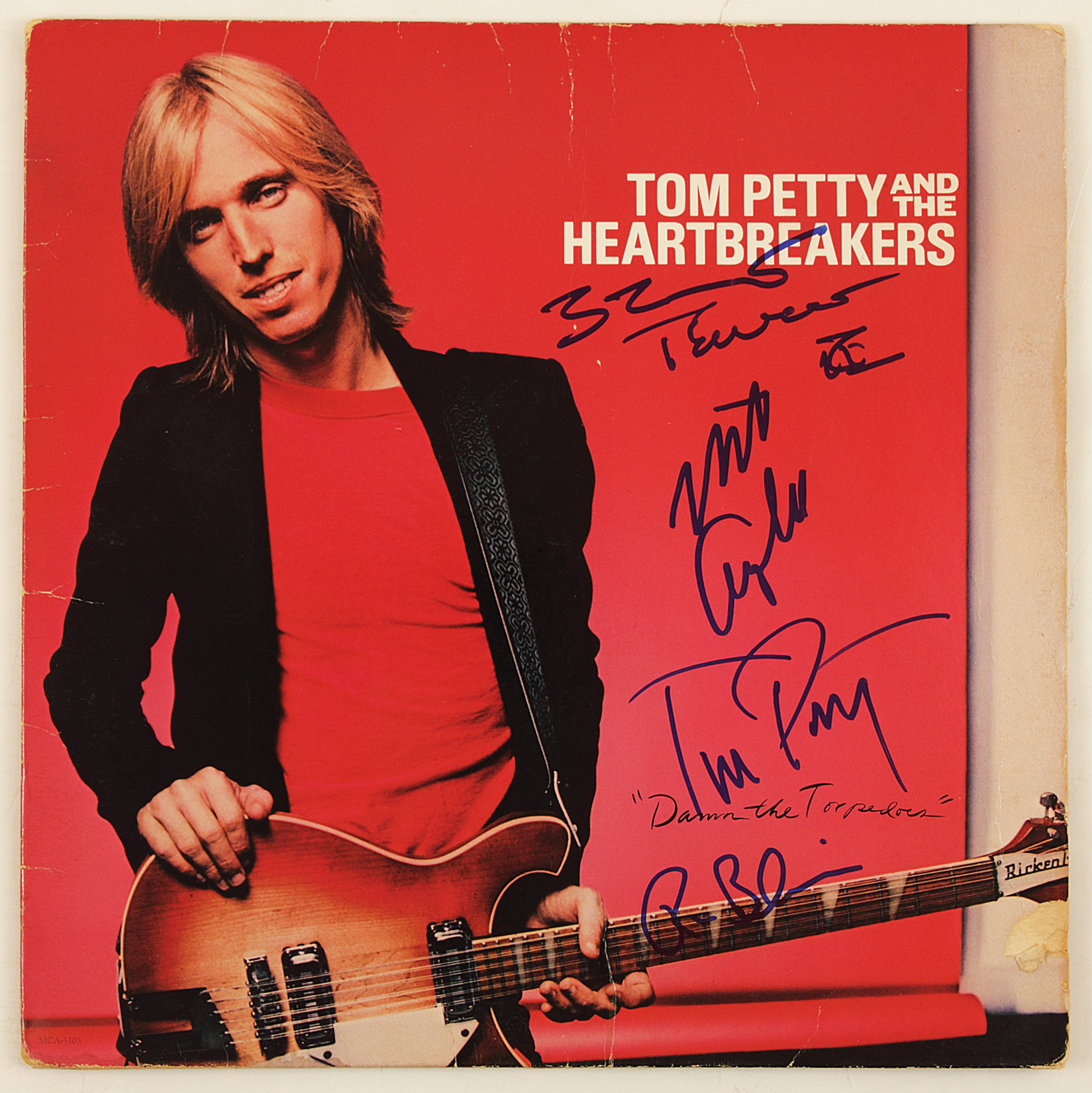 lot detail tom petty and the heartbreakers signed damn the torpedoes album. Black Bedroom Furniture Sets. Home Design Ideas