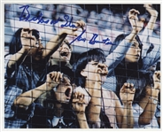 "Beatles Sid Bernstein Signed and ""Beatles At Shea"" Inscribed Photograph"