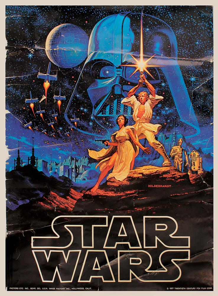 Lot Detail Star Wars Original 1977 Movie Poster Collection