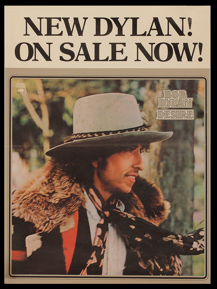 Lot Detail - Bob Dylan Original