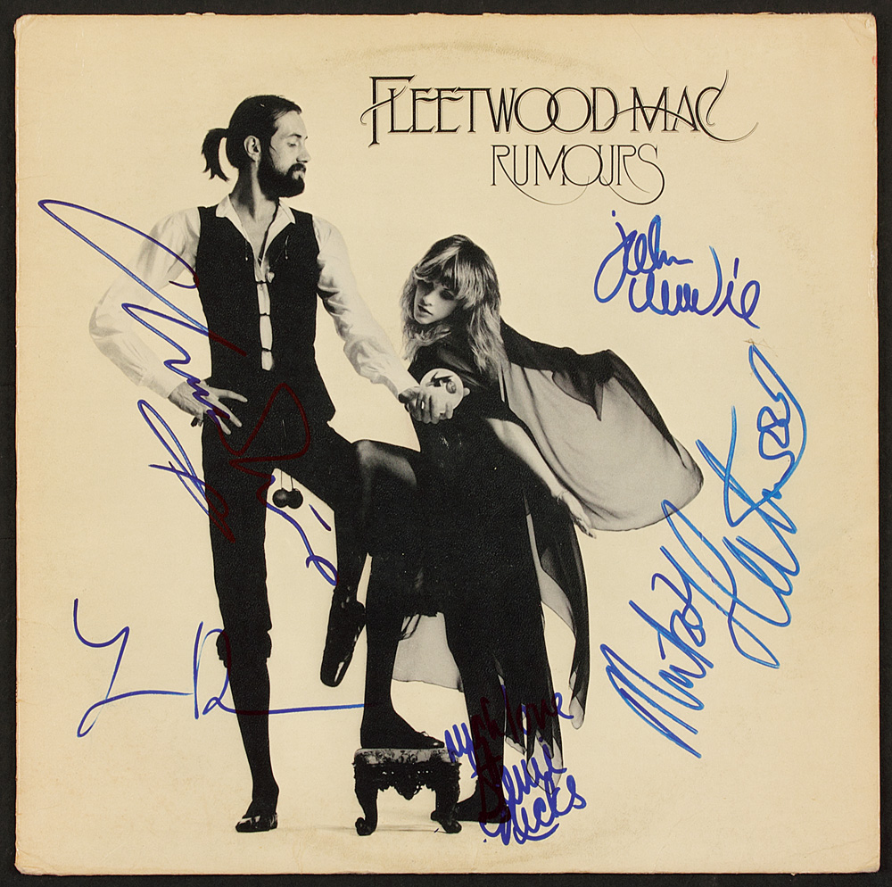 Lot Detail Fleetwood Mac Signed Quot Rumours Quot Album