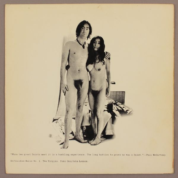 Lot Detail John Lennon And Yoko Ono Two Virgins Original Album Cover