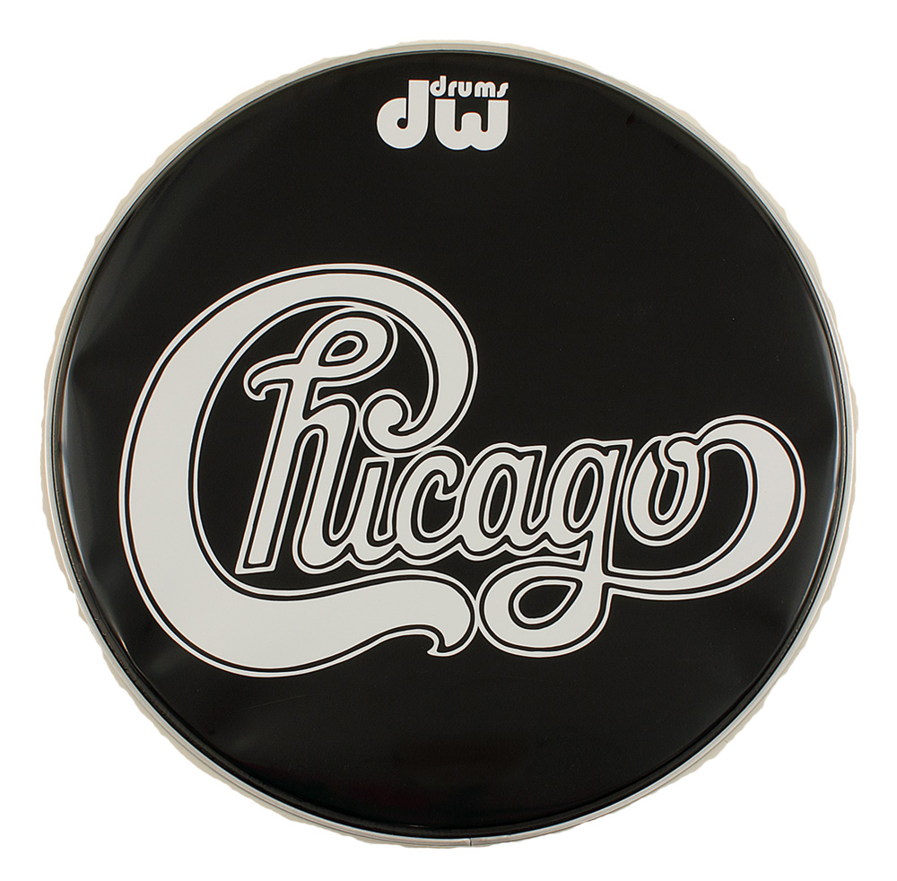 lot detail chicago stage used drum head. Black Bedroom Furniture Sets. Home Design Ideas