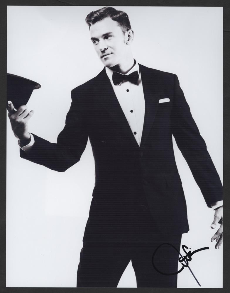 Lot Detail - Justin Timberlake Signed Photograph