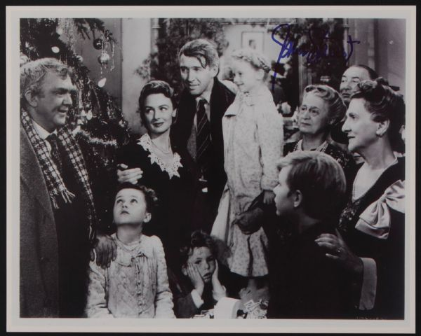 Lot Detail Jimmy Stewart Signed Photograph Archive