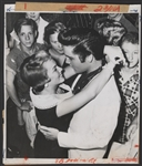 Elvis Presley Original Stamped Wire Photograph