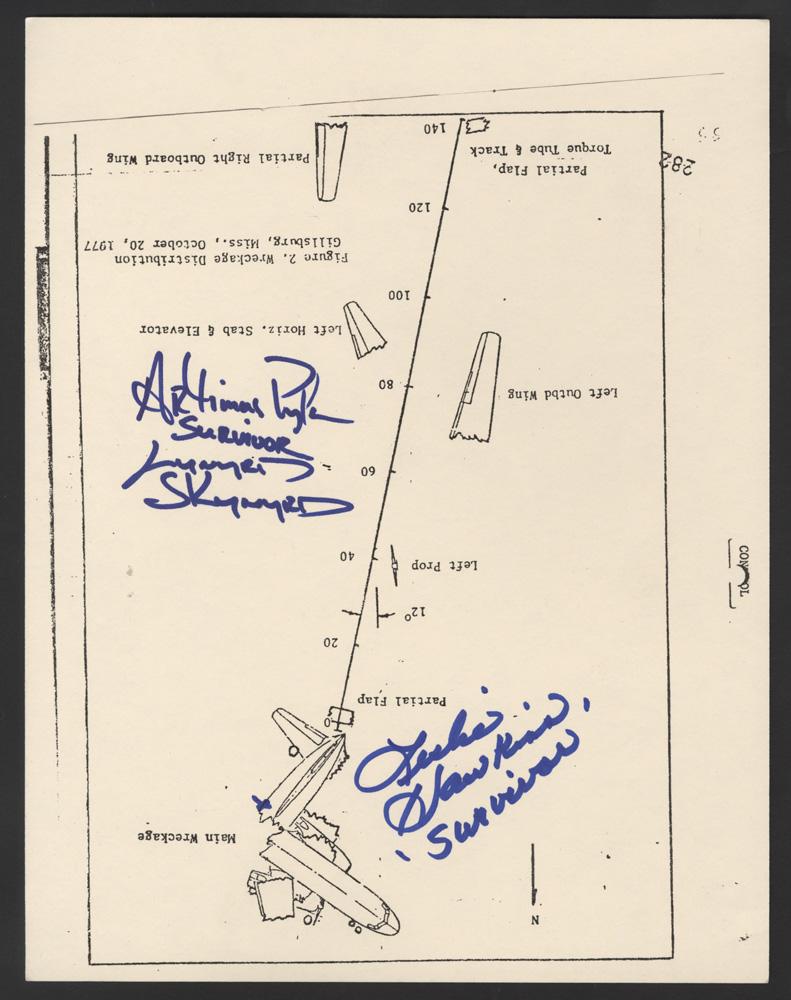 Lot Detail - Lynyrd Skynyrd Artimus Pyle & Leslie Hawkins ... Lynyrd Skynyrd Plane Crash Survivors