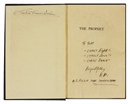 "Elvis Presley Hand Annotated and Signed ""The Prophet"" To Tom Diskin"