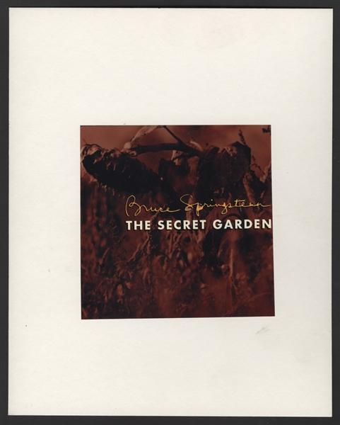 Lot Detail Bruce Springsteen Original Unreleased Alternate Artwork For The Secret Garden