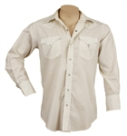 "Elvis Presley ""Stay Away Joe"" Film Worn Long-Sleeved Western Shirt"