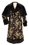 "Elvis Presley Owned & Worn ""Superfly"" Long Coat and Faux Fur Cape"