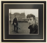Early Beatles Original Oversized Photograph Signed by Astrid Kirchherr