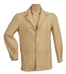 Elvis Presley Owned & Worn Custom Made Cream Wool Jacket