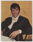 Elvis Presley Signed & Inscribed RCA Records Photo Album