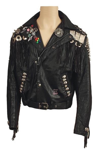 Axl rose leather jacket