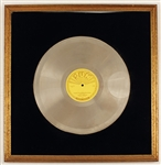 "Elvis Presley ""Im Left, Youre Right, Shes Gone"" Original Sun Platinum Record Award"