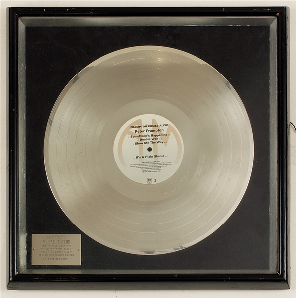 "House Platinum: Peter Frampton ""Frampton Comes Alive"